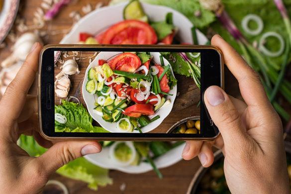 撮影する料理の写真を美味しく見せるためのコツ